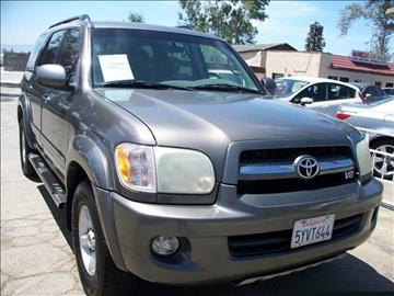 2006 Toyota Sequoia for sale in Ontario, CA