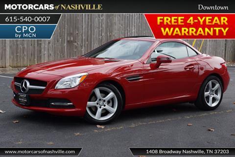 2015 Mercedes-Benz SLK for sale in Nashville, TN