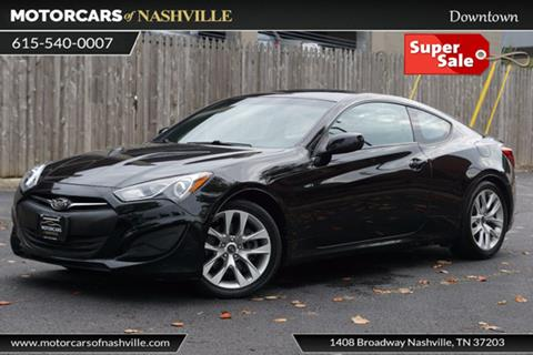 2013 Hyundai Genesis Coupe for sale in Nashville, TN