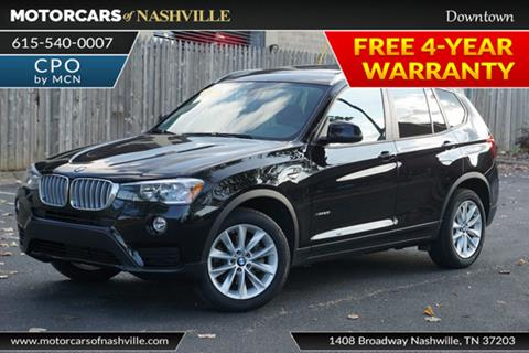 2017 BMW X3 for sale in Nashville, TN