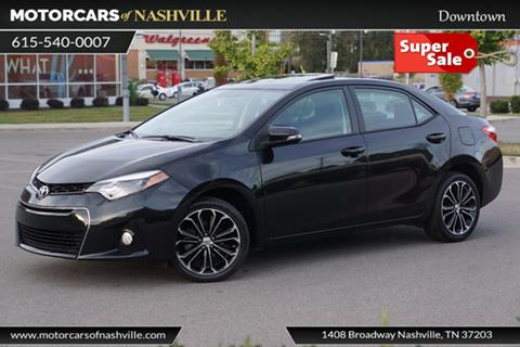 2015 Toyota Corolla for sale in Nashville, TN