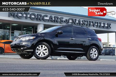 Nissan murano for sale in nashville tn for Franklin motor company nashville tn
