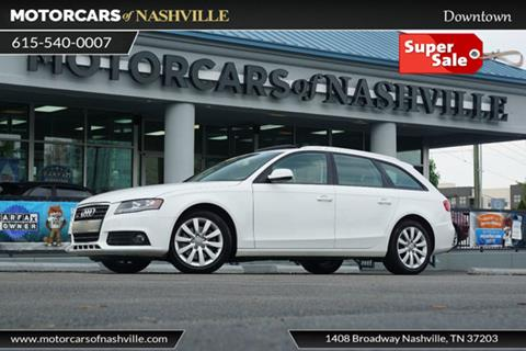 2012 Audi A4 for sale in Nashville, TN