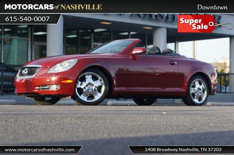 Used Lexus Sc 430 For Sale In Tennessee Carsforsalecom
