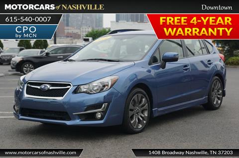 2016 Subaru Impreza for sale in Nashville, TN