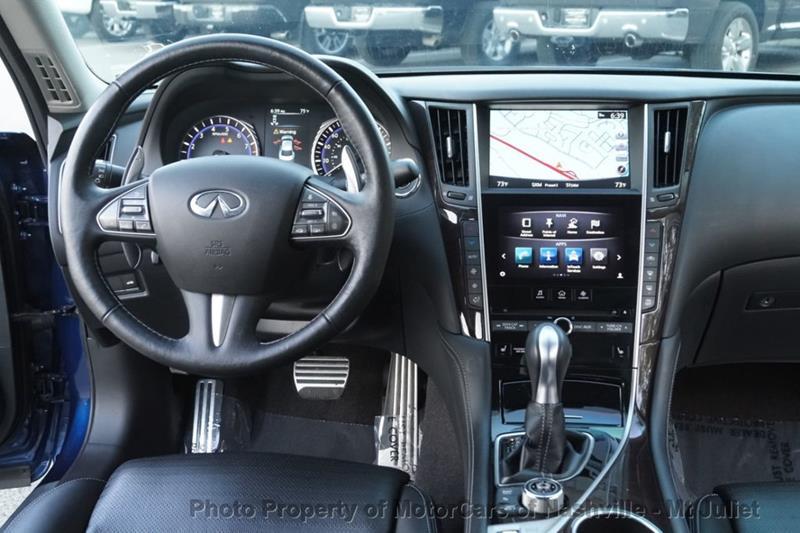 2016 Infiniti Q50 AWD Red Sport 400 4dr Sedan - Nashville TN