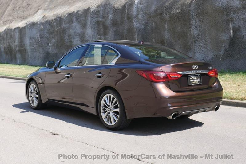 2018 Infiniti Q50 3.0t LUXE RWD - Nashville TN