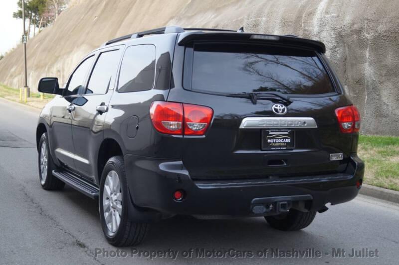 2016 Toyota Sequoia 4x2 Platinum 4dr SUV - Nashville TN