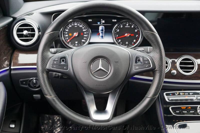 2017 Mercedes-Benz E-Class E 300 4dr Sedan - Nashville TN