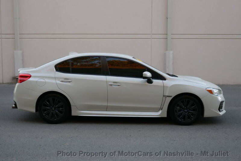 2018 Subaru WRX AWD 4dr Sedan - Nashville TN