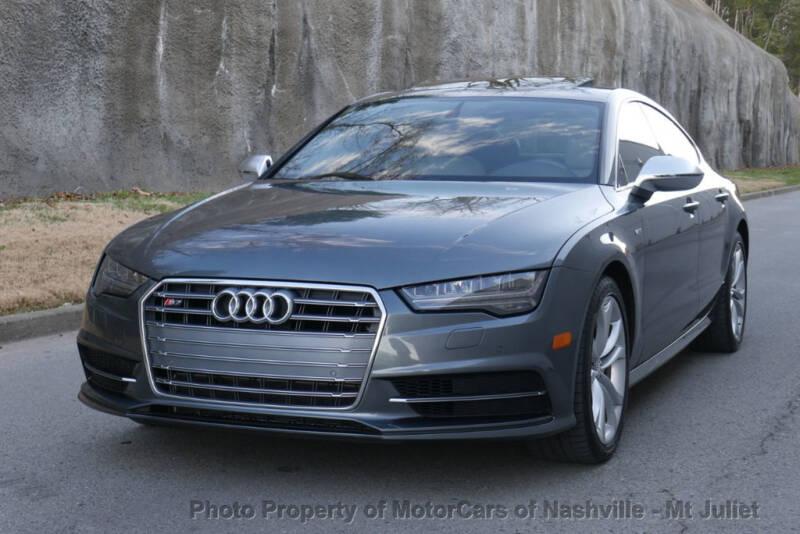 2017 Audi S7 AWD 4.0T quattro Premium Plus 4dr Sportback - Nashville TN