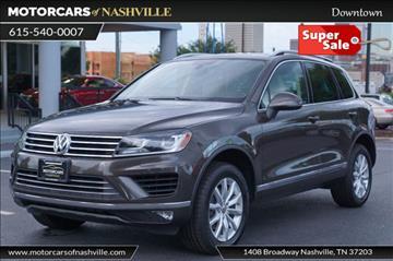 2016 Volkswagen Touareg for sale in Nashville, TN