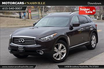 2014 Infiniti QX70 for sale in Nashville, TN