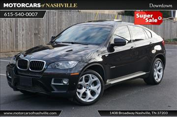2014 bmw x6 for sale in nashville tn. Black Bedroom Furniture Sets. Home Design Ideas
