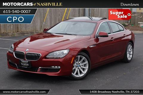 2014 BMW 6 Series for sale in Nashville, TN