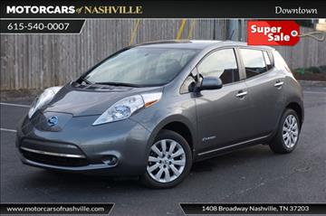 2015 Nissan LEAF for sale in Nashville, TN