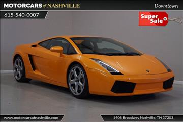 2004 Lamborghini Gallardo for sale in Nashville, TN