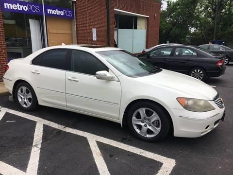 2005 Acura RL for sale in Manassas, VA