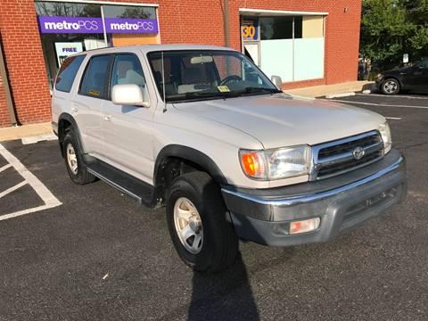 1999 Toyota 4Runner for sale in Manassas, VA