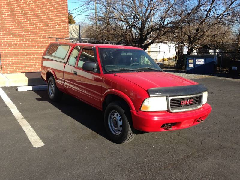 GMC Sonoma 2002 SL 3dr Extended Cab 4WD SB