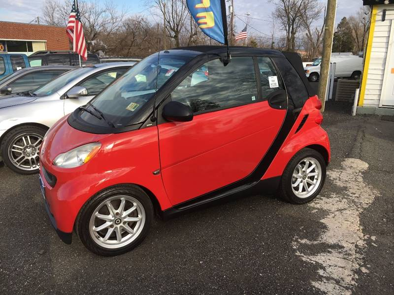 Smart fortwo 2009 passion cabriolet 2dr