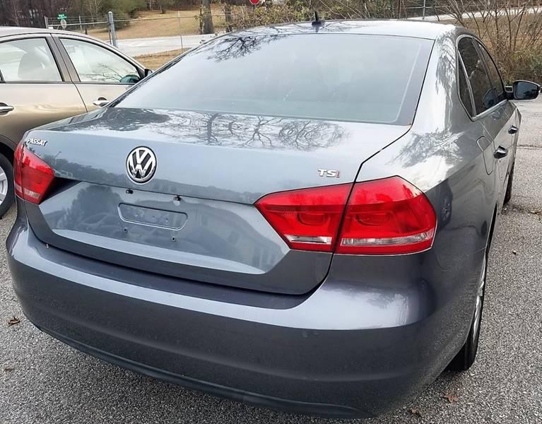 2014 Volkswagen Passat 1.8T S PZEV 4dr Sedan 6A - Lithia Springs GA