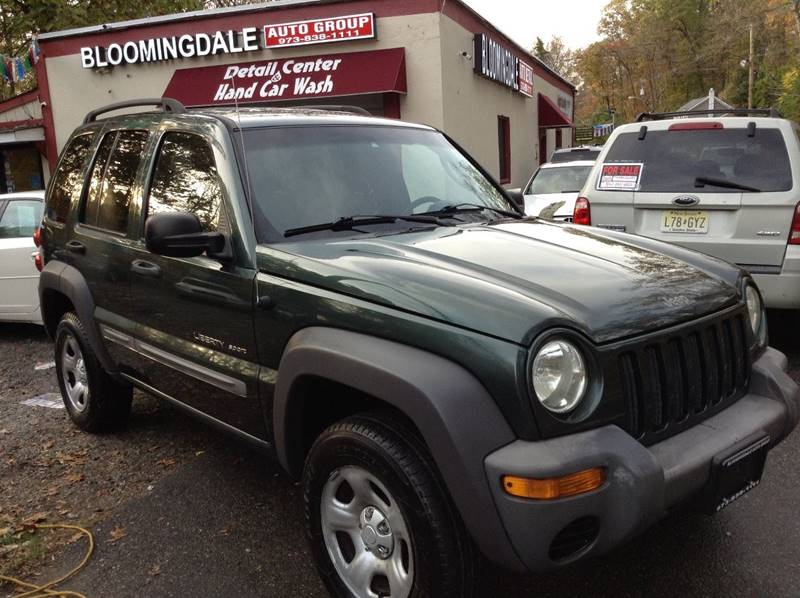 2002 Jeep Liberty Sport In Bloomingdale Nj Auto Group