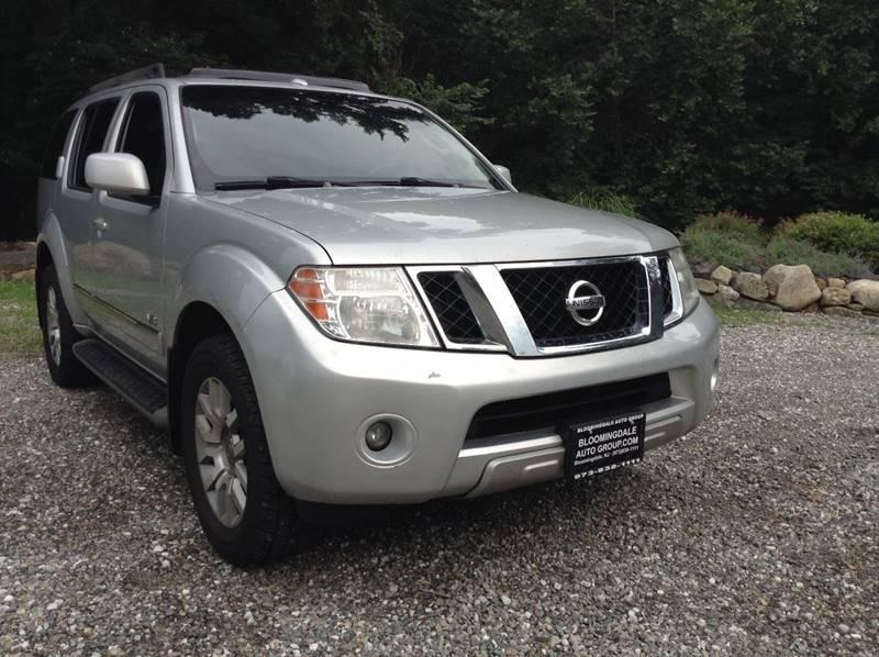 2008 Nissan Pathfinder 4x4 LE V8 4dr SUV   Bloomingdale NJ
