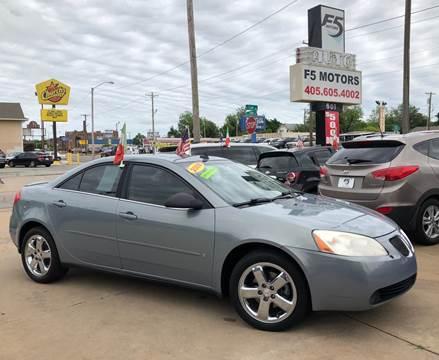 2009 Pontiac G6 for sale in Oklahoma City, OK