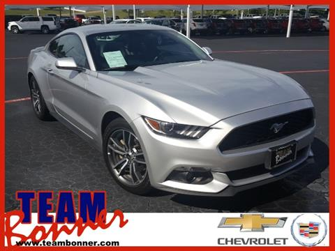 2017 Ford Mustang for sale in Denison TX