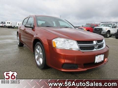 2012 Dodge Avenger SE for sale at 56 Auto Sales in London OH
