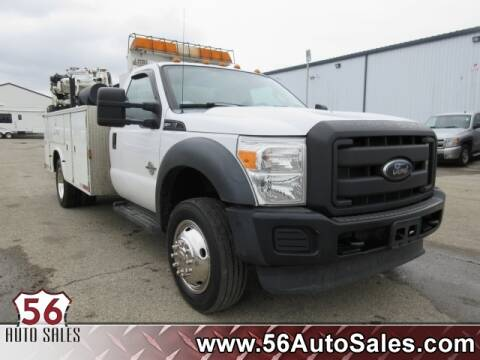 2012 Ford F-550 Super Duty for sale at 56 Auto Sales in London OH