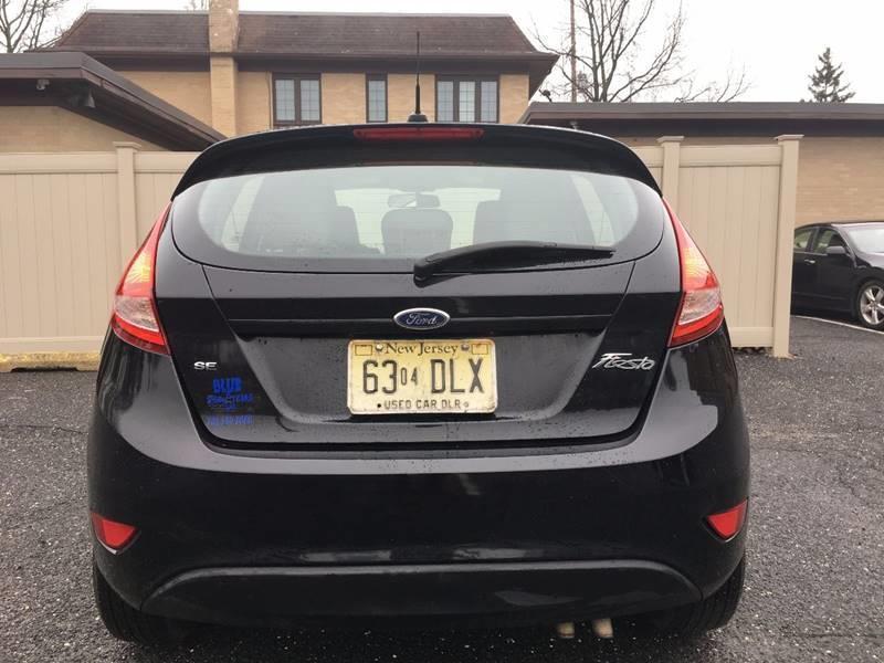 2012 Ford Fiesta SE 4dr Hatchback - Jamesburg NJ