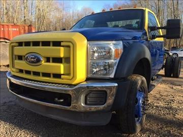 2012 Ford F-550 for sale in Jamesburg, NJ