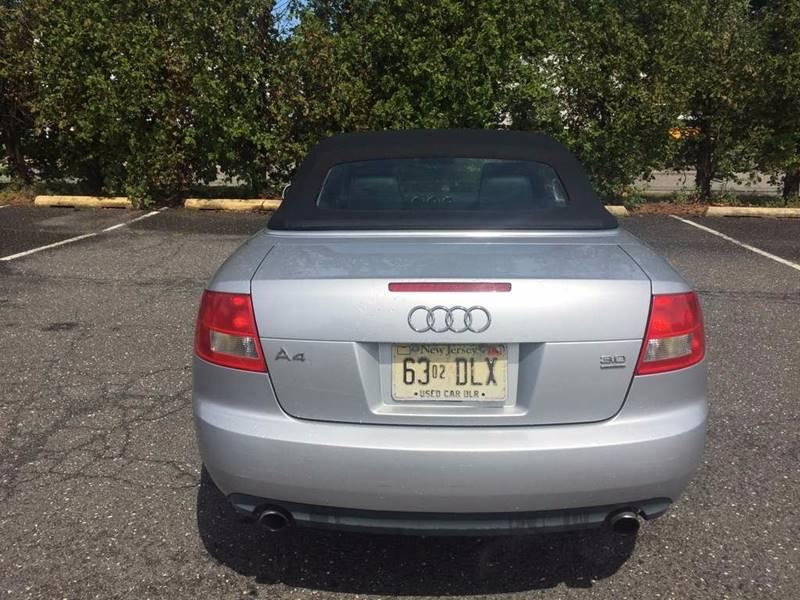 2004 Audi A4 AWD 3.0 quattro 2dr Cabriolet - Jamesburg NJ