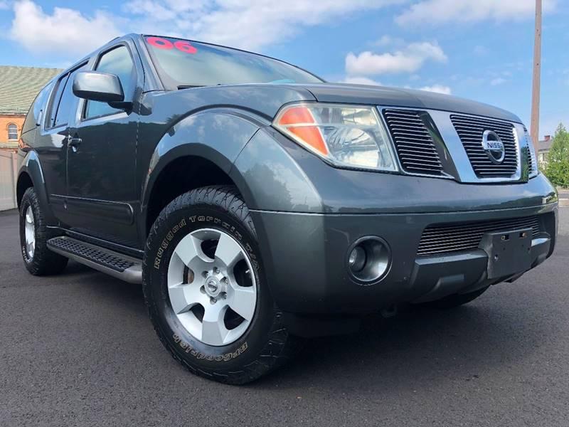 2006 Nissan Pathfinder For Sale At Blue Star Cars In Jamesburg NJ