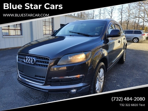 2009 Audi Q7 for sale at Blue Star Cars in Jamesburg NJ