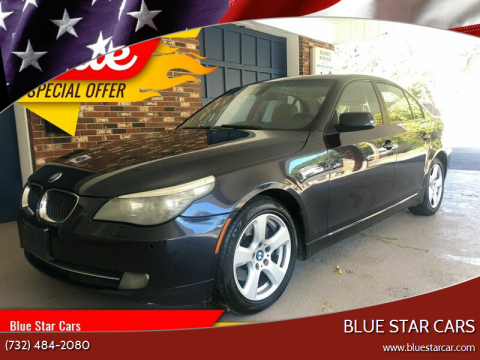 2008 BMW 5 Series for sale at Blue Star Cars in Jamesburg NJ