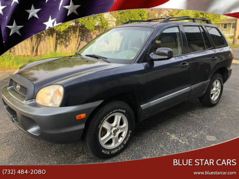 2004 Hyundai Santa Fe for sale at Blue Star Cars in Jamesburg NJ