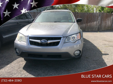 2008 Subaru Outback for sale at Blue Star Cars in Jamesburg NJ