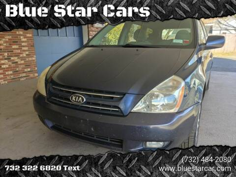 2007 Kia Sedona for sale at Blue Star Cars in Jamesburg NJ