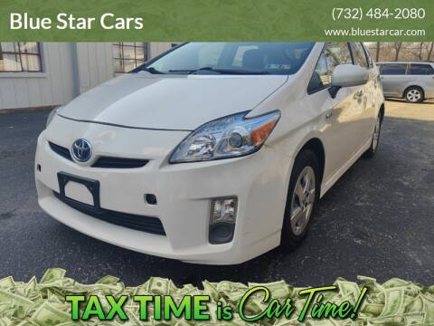 2010 Toyota Prius for sale at Blue Star Cars in Jamesburg NJ
