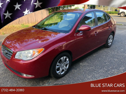 2009 Hyundai Elantra for sale at Blue Star Cars in Jamesburg NJ