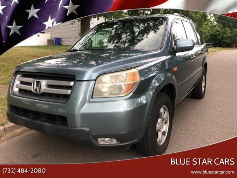 2006 Honda Pilot for sale at Blue Star Cars in Jamesburg NJ