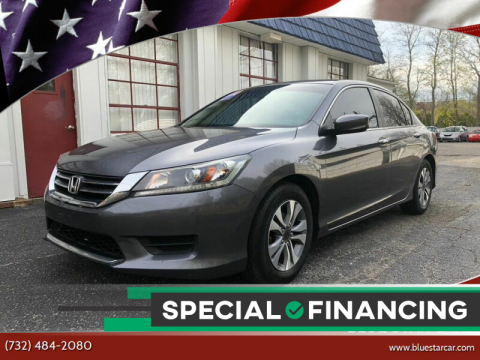 2014 Honda Accord for sale at Blue Star Cars in Jamesburg NJ