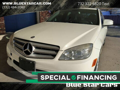 2009 Mercedes-Benz C-Class for sale at Blue Star Cars in Jamesburg NJ