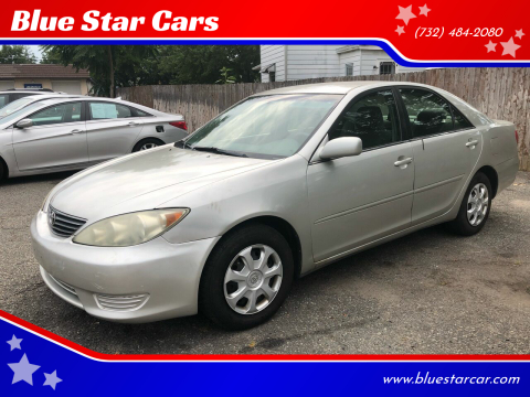 2005 Toyota Camry for sale at Blue Star Cars in Jamesburg NJ