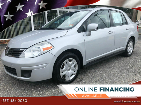 2011 Nissan Versa for sale at Blue Star Cars in Jamesburg NJ