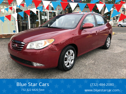 2010 Hyundai Elantra for sale at Blue Star Cars in Jamesburg NJ