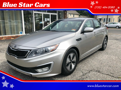 2011 Kia Optima Hybrid for sale at Blue Star Cars in Jamesburg NJ